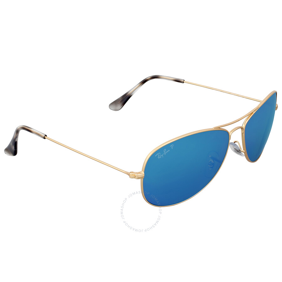 ebfafbdeb99 Ray Ban Polarized Blue Mirror Chromance Aviator Sunglasses - Ray-Ban ...