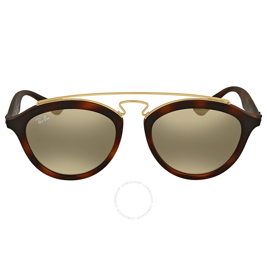 5dd6818c88 Ray Ban Gatsby II Gold Mirror Sunglasses Item No. RB4257 60925A 50