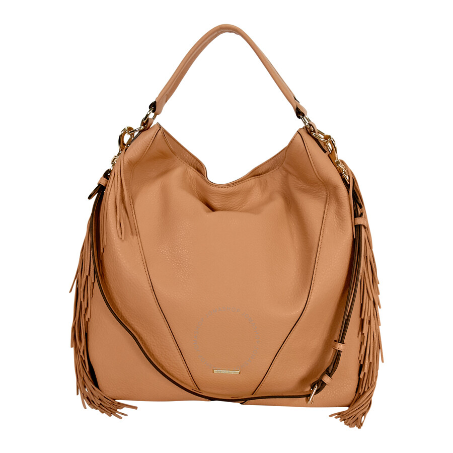 754ff234a636 Rebecca Minkoff Moto Hobo Leather Bag - Butter Rum Item No. HT26IFRH04-261