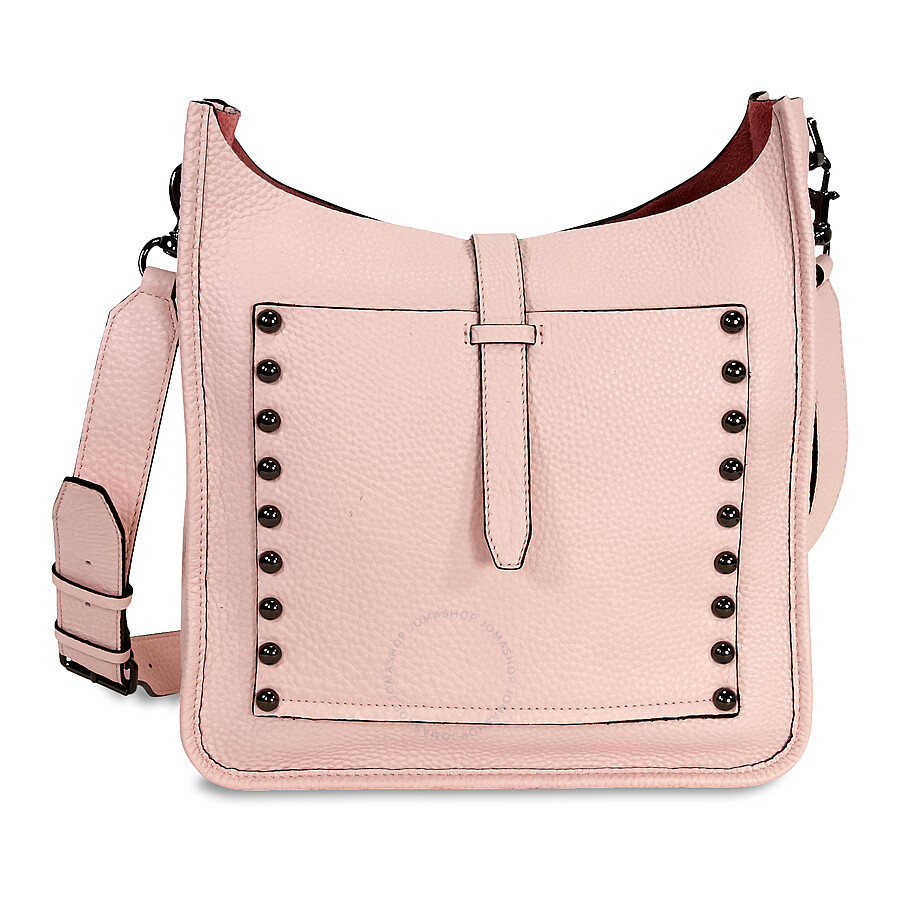 Rebecca Minkoff Unlined Leather Feed Bag Pale Blush