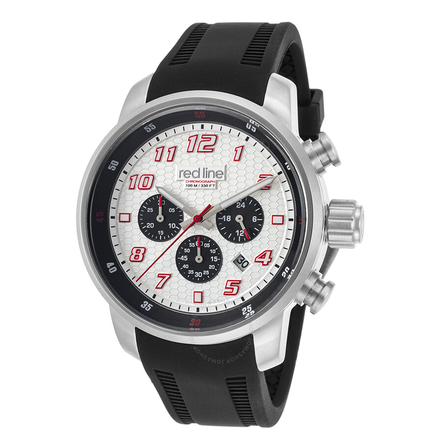 Red Line Topgear Chronograph Silver Dial Men's Watch RL ... - photo #20