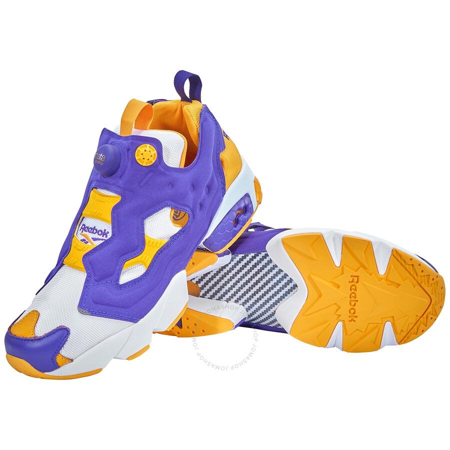 Reebok Men's InstaPump Fury OG Lakers Sneakers