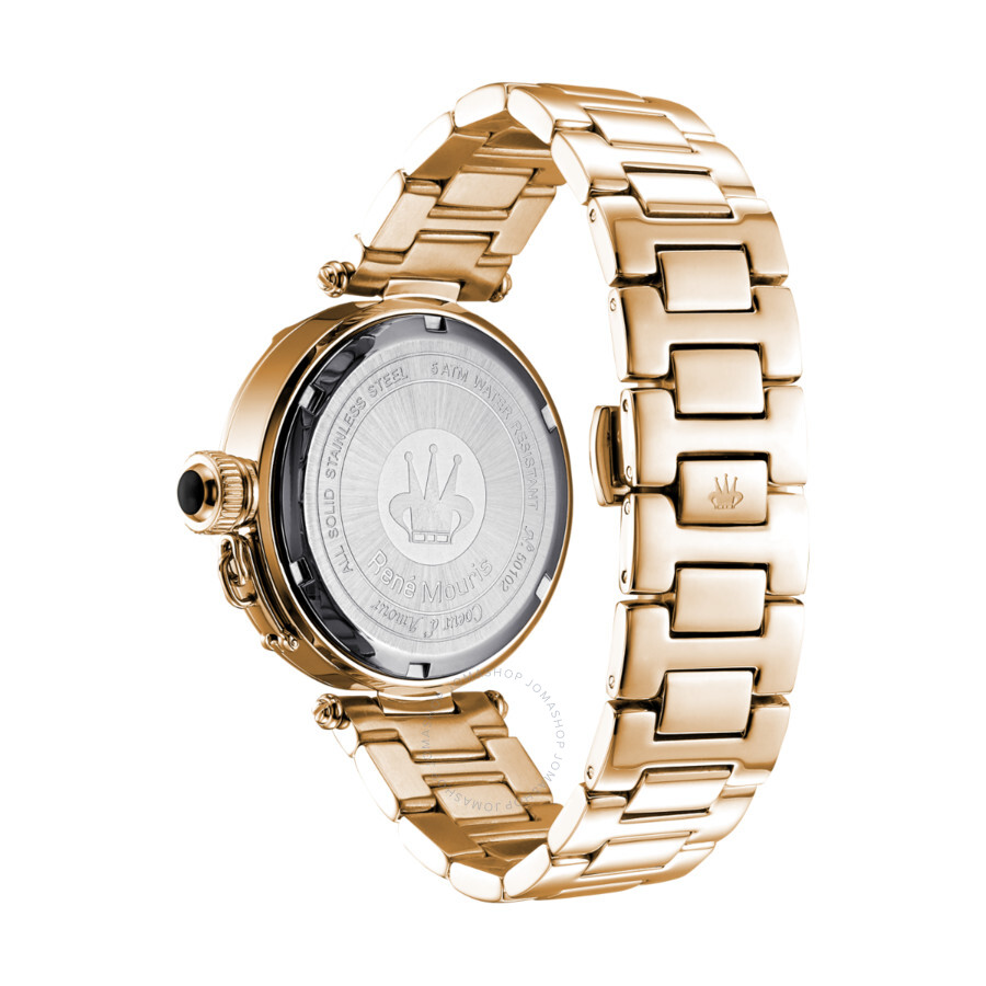 Coeur D\'Amour Black Mother of Pearl Dial Ladies Watch 50102RM8