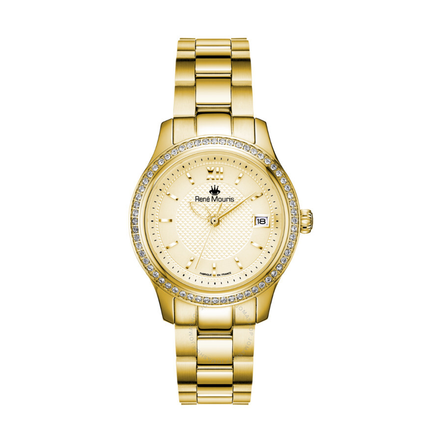 Lola Champagne Dial Ladies Watch 50113RM2