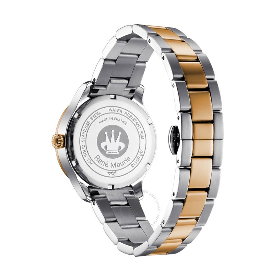 René Mouris Lola White Dial Ladies Watch 50113RM3