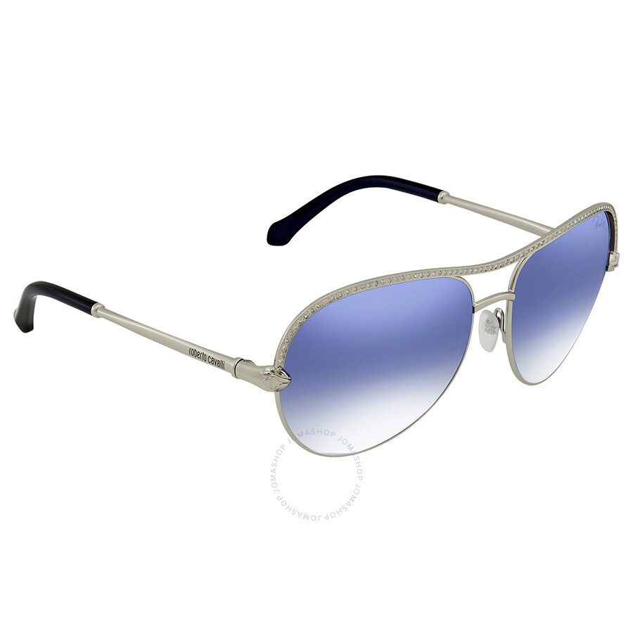d782c480c13 Roberto Cavalli Blue Mirror Aviator Sunglasses RC1011 16X 61 ...