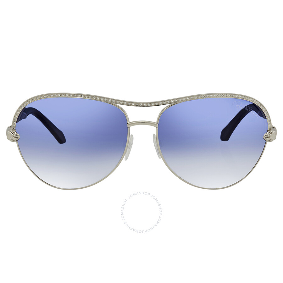 78a80a351a Roberto Cavalli Blue Mirror Aviator Sunglasses RC1011 16X 61 .