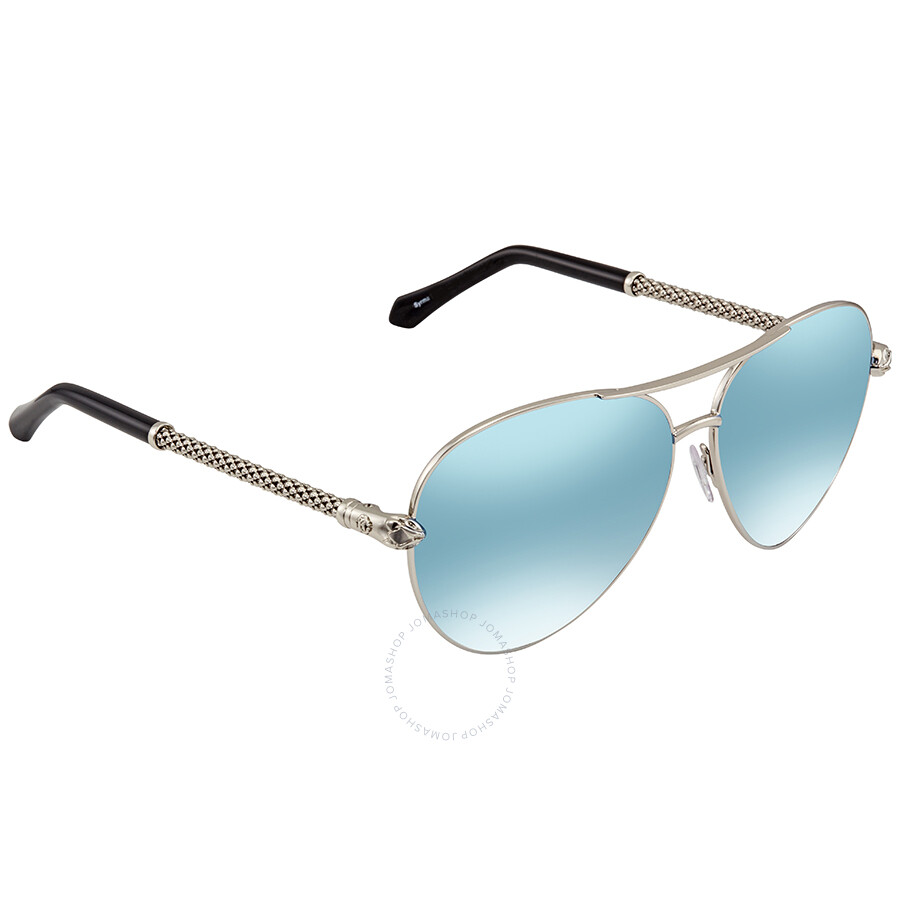 0bc3d8543 Roberto Cavalli Blue Mirror Aviator Sunglasses RC976S 16X 61 Item No.  RC976S 16X 61