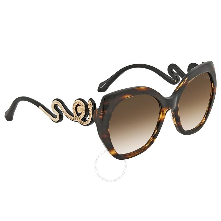 Roberto Cavalli Brown Mirror Oval Sunglasses RC1047 47G 57 - Roberto ... ec4d887681