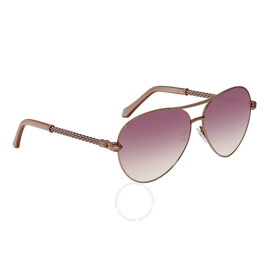 956003a89208 Roberto Cavalli SYRMA Pink Gradient Aviator Ladies Sunglasses RC976S34Z61  ...