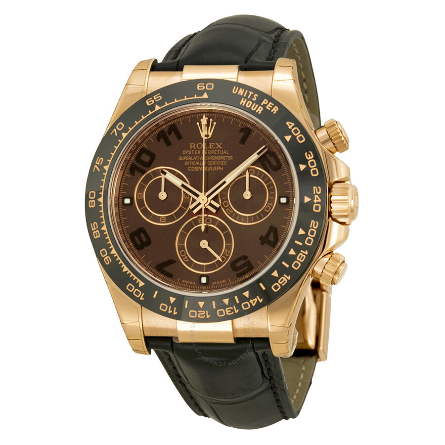 Rolex Cosmograph Daytona Automatic Chocolate Dial Men S Watch