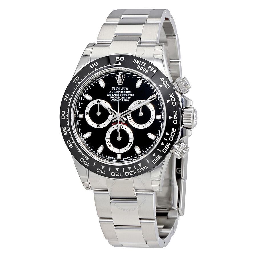 88144fa9398 Rolex Cosmograph Daytona Black Dial Oyster Men's Watch 116500BKSO Item No.  116500LN