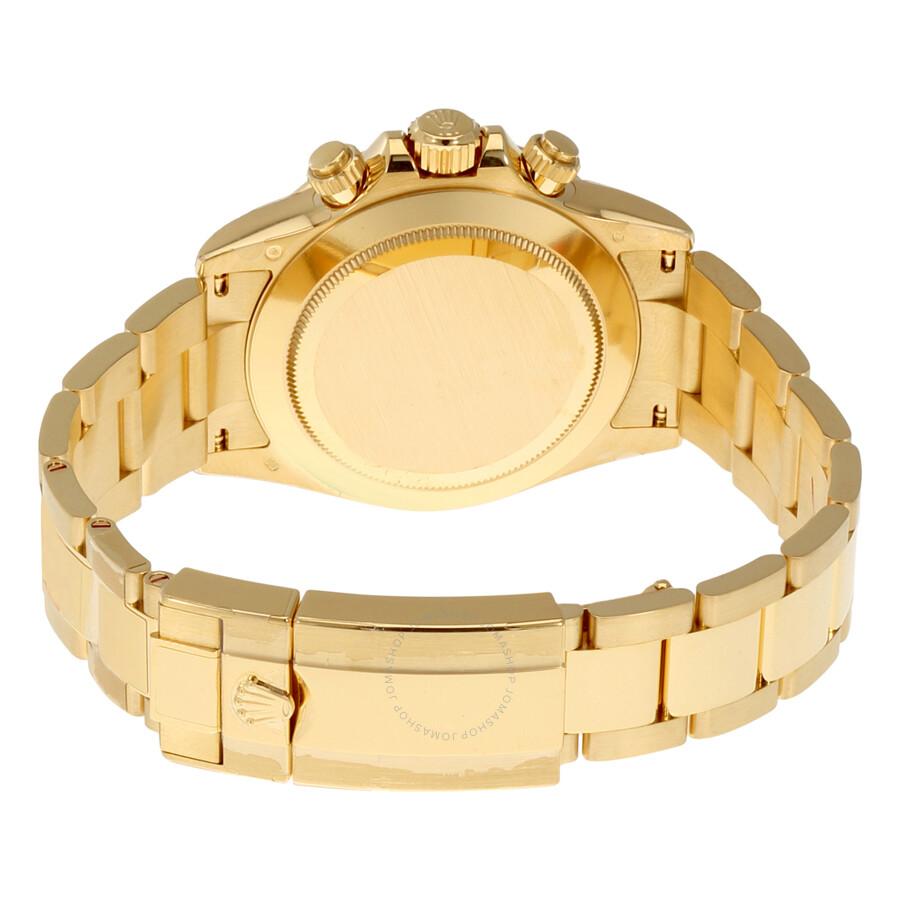 Rolex Cosmograph Daytona Green Dial 18K Yellow Gold Oyster Men\'s ...