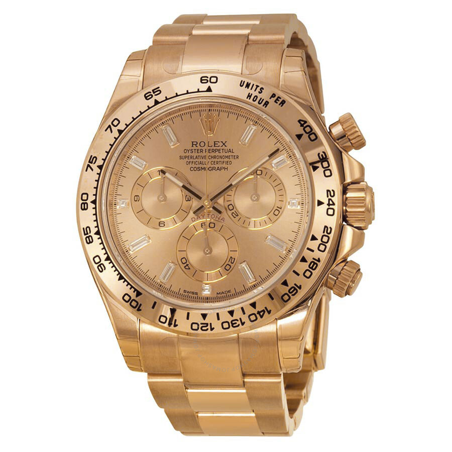 Rose Gold Rolex Daytona