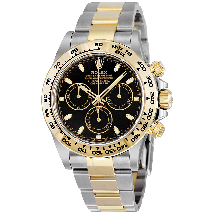 rolex cosmograph daytona steel and 18k yellow gold oyster
