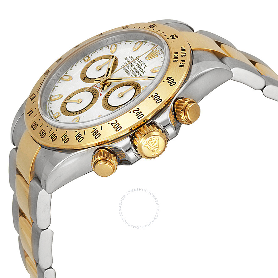 0cbacb7a4ef ... Rolex Cosmograph Daytona White Dial Stainless steel and 18K Yellow Gold Oyster  Bracelet Automatic Men's Watch ...
