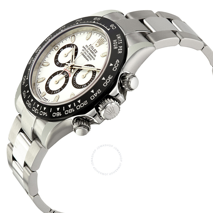 Rolex Cosmograph Daytona White Dial Stainless Steel Oyster ...