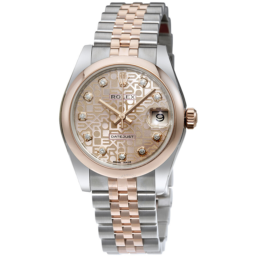 Pink Diamond Rolex Watch