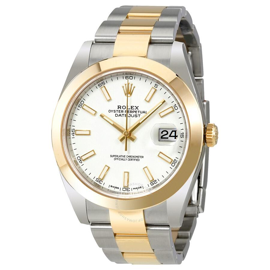 White Gold Datejust Rolex