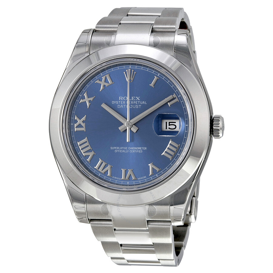Rolex Datejust II Blue...
