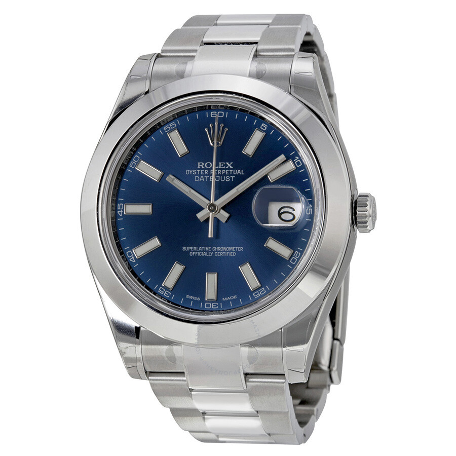 Rolex Datejust Blue