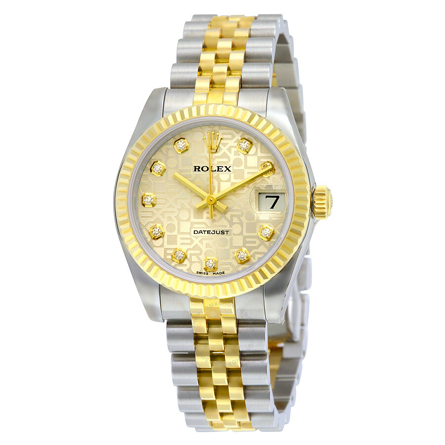 rolex datejust silver automatic stainless steel and