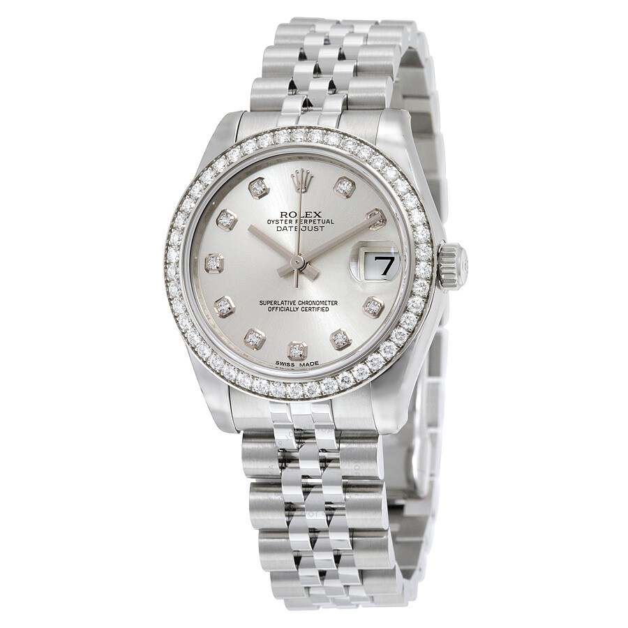 Rolex Datejust Lady 31 Silver Dial Stainless Steel Jubilee Bracelet  Automatic Watch 178384SDJ ... 8f885ef367