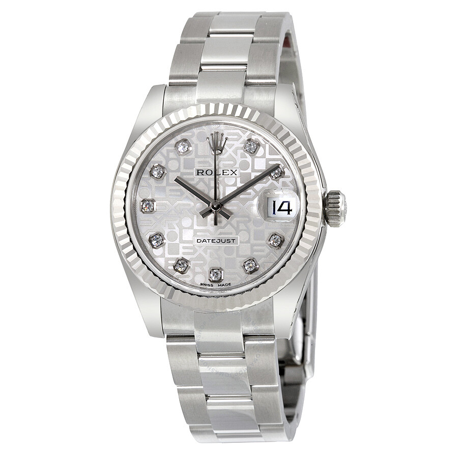 Rolex Datejust Lady 31 Silver Dial Stainless Steel Oyster Bracelet  Automatic Watch 178274SJDO ... 3890205e10