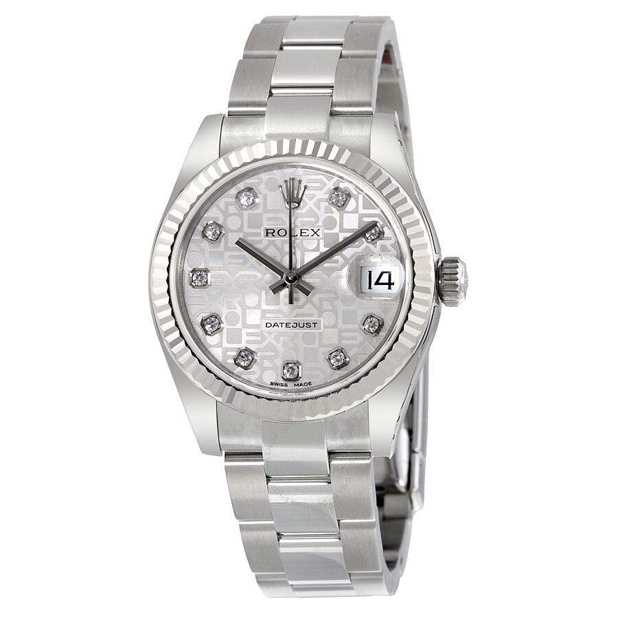 Rolex Datejust Silber