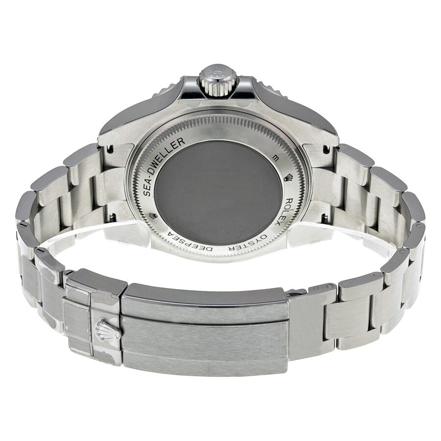 Rolex Deepsea Black Dial Stainless Steel Oyster Bracelet Automatic Men\u0027s  Watch 116660BKSO