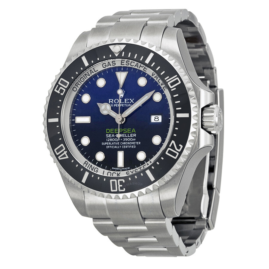 8c627d3c3ed Rolex Deepsea D-Blue Dial Stainless Steel Oyster Automatic Men's Watch  116660BLSO Item No. 116660D