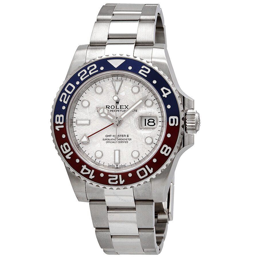 Rolex GMT,Master II Automatic Chronometer Meteorite Dial Pepsi Bezel Watch  M126719BLRO,0002