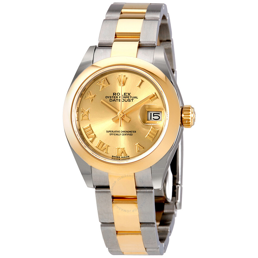 Rolex Lady Datejust 28 Steel And 18k Yellow Gold Watch 279163cro