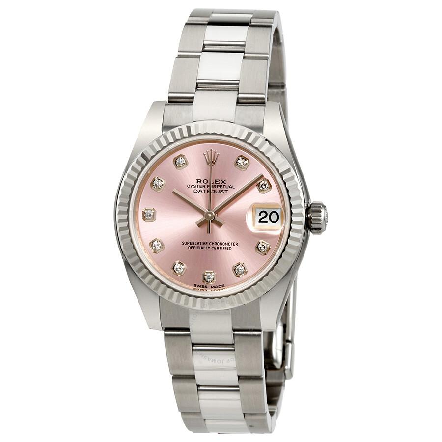 770520e4adb0d Rolex Lady Datejust Pink Diamond Dial Automatic Watch 178274PDO ...