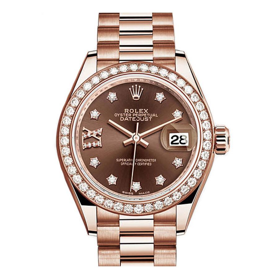 Rolex Datejust Womens Gold