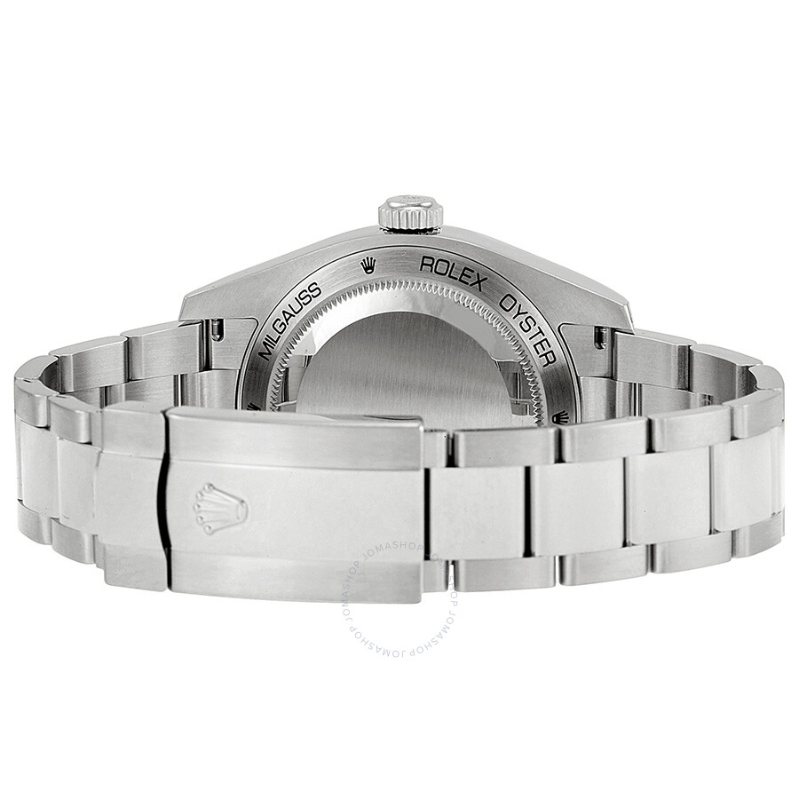 Rolex Milgauss White Dial Stainless Steel Oyster Bracelet Automatic Men S Watch 116400wso