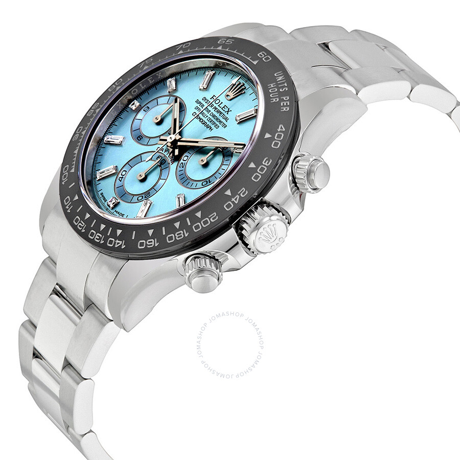 ec48aed688f ... Rolex Oyster Perpetual Cosmograph Daytona Ice Blue Dial Automatic Men's  Chronograph Watch 116506BLDO ...