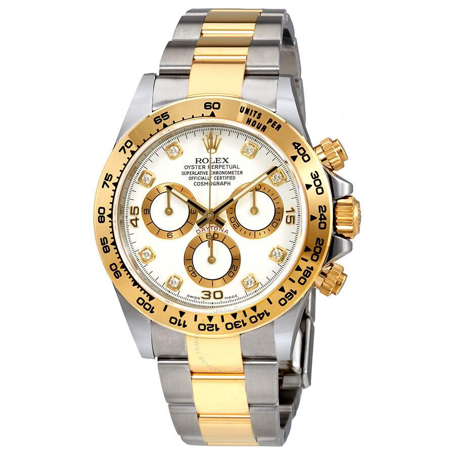 rolex oyster perpetual cosmograph daytona white diamond dial ladies watch 116503wdo cosmograph. Black Bedroom Furniture Sets. Home Design Ideas