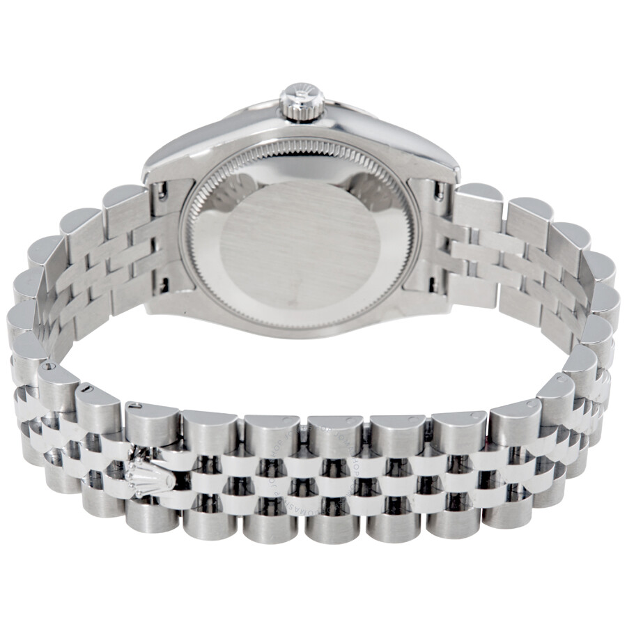 Rolex Oyster Perpetual Datejust 31 Purple Dial Stainless Steel Jubilee  Bracelet Automatic Ladies Watch 178344PRDJ