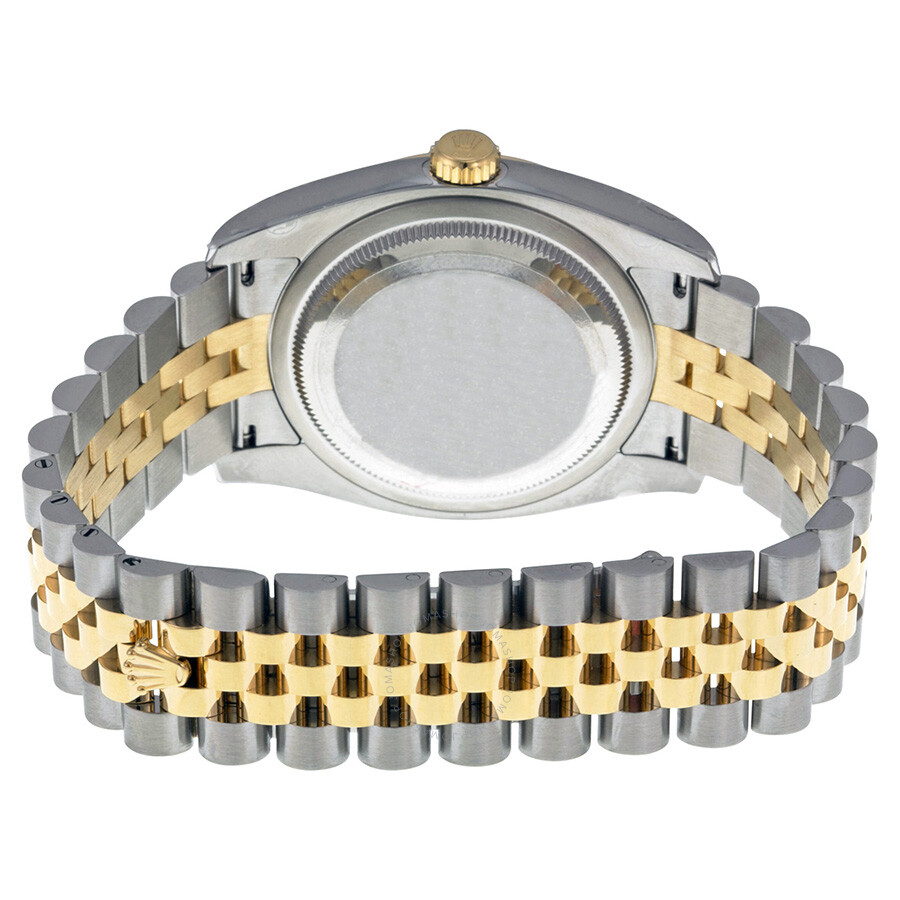 8fd7b3d0431 ... Rolex Oyster Perpetual Datejust 36 Mother of Pearl Dial Stainless Steel  and 18K Yellow Gold Jubilee