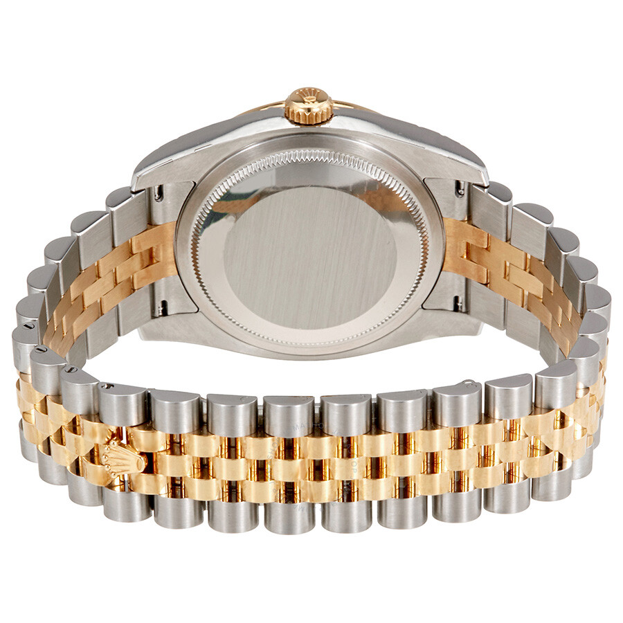 Oyster Perpetual Datejust 36 White Dial Stainless Steel and 18K Yellow Gold Jubilee Bracelet Automatic Ladies Watch 116243WSJ