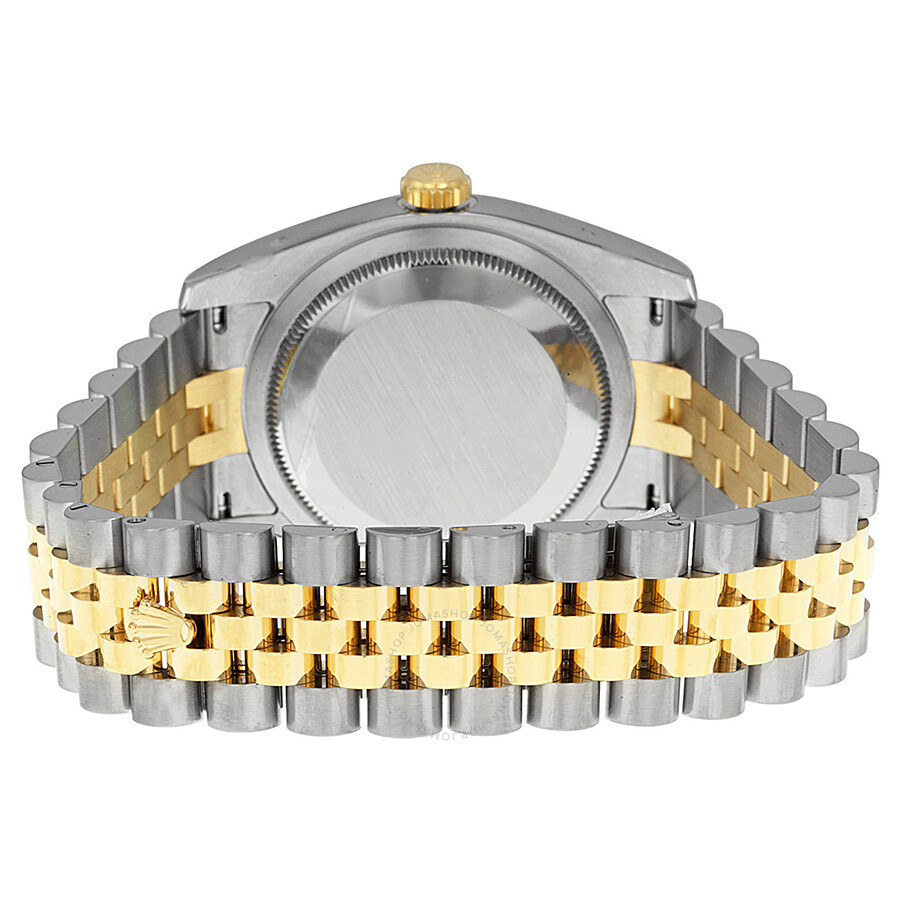 rolex oyster perpetual datejust 36 white stainless