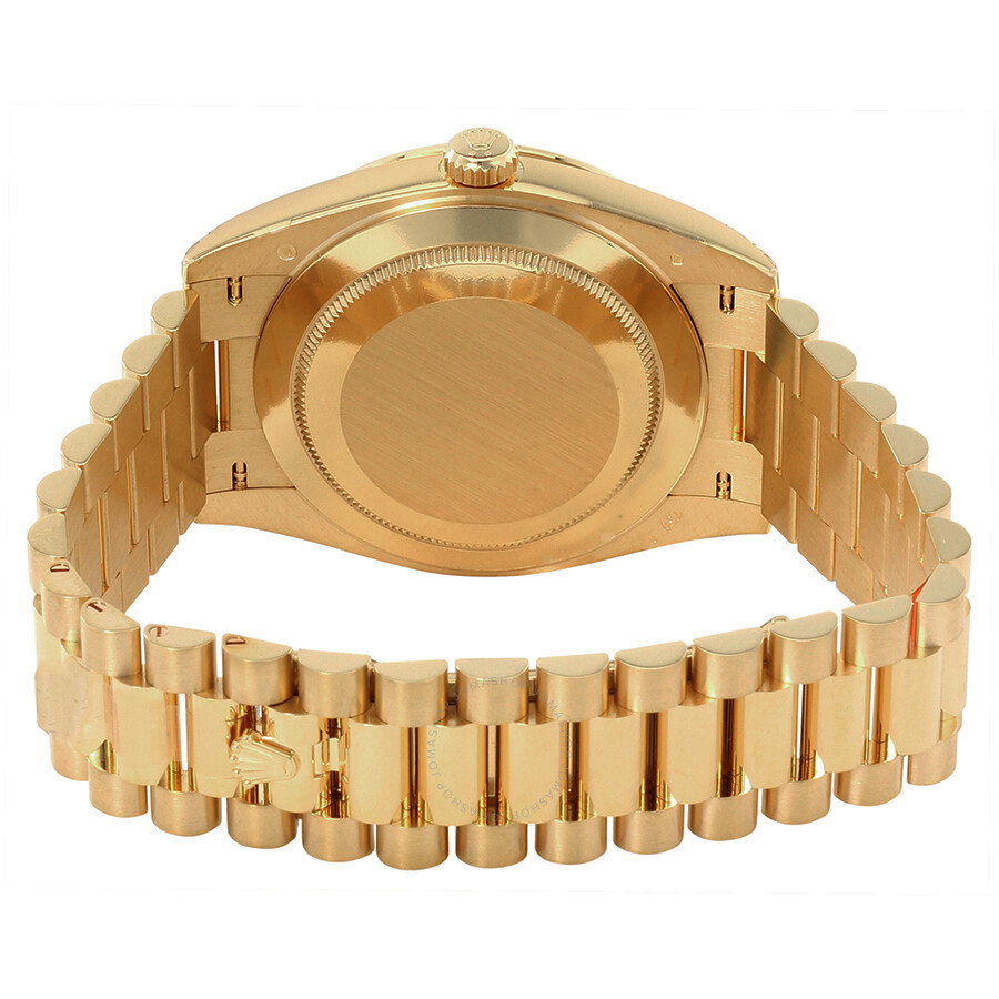 Rolex Oyster Perpetual Gold Black