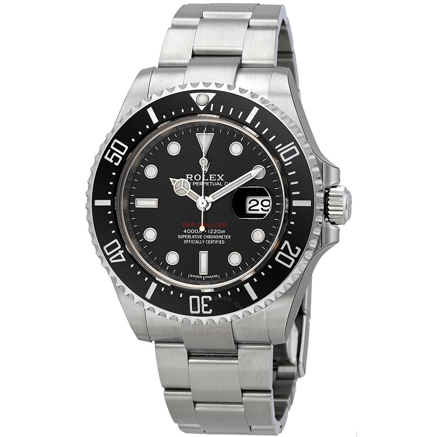 4f50c378c46 Rolex Oyster Perpetual Sea-Dweller 43 mm Ceramic Bezel Stainless Steel  Men's Watch 126600BKSO ...