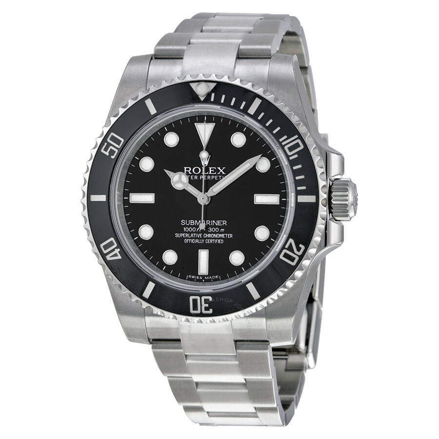 0e61a58c490 Rolex Submariner Automatic Black Dial Men s Watch 114060 ...