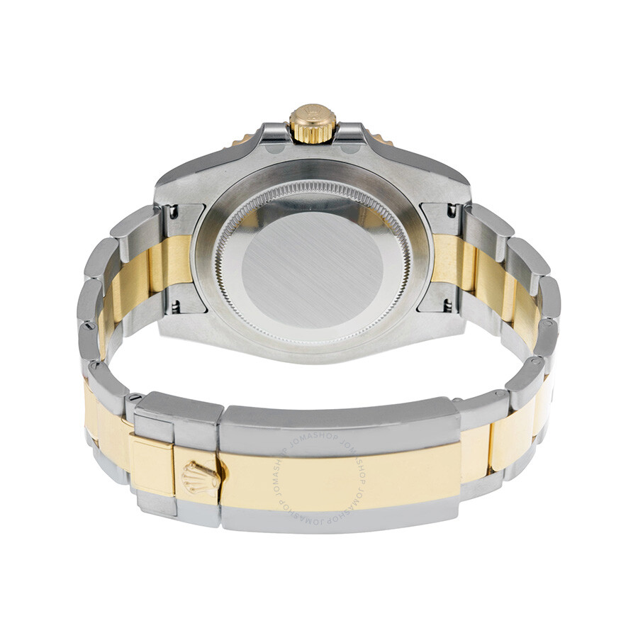 Rolex Submariner Black Dial Stainless Steel And 18k Yellow Gold Oyster Bracelet Automatic Men S Watch 116613bkso