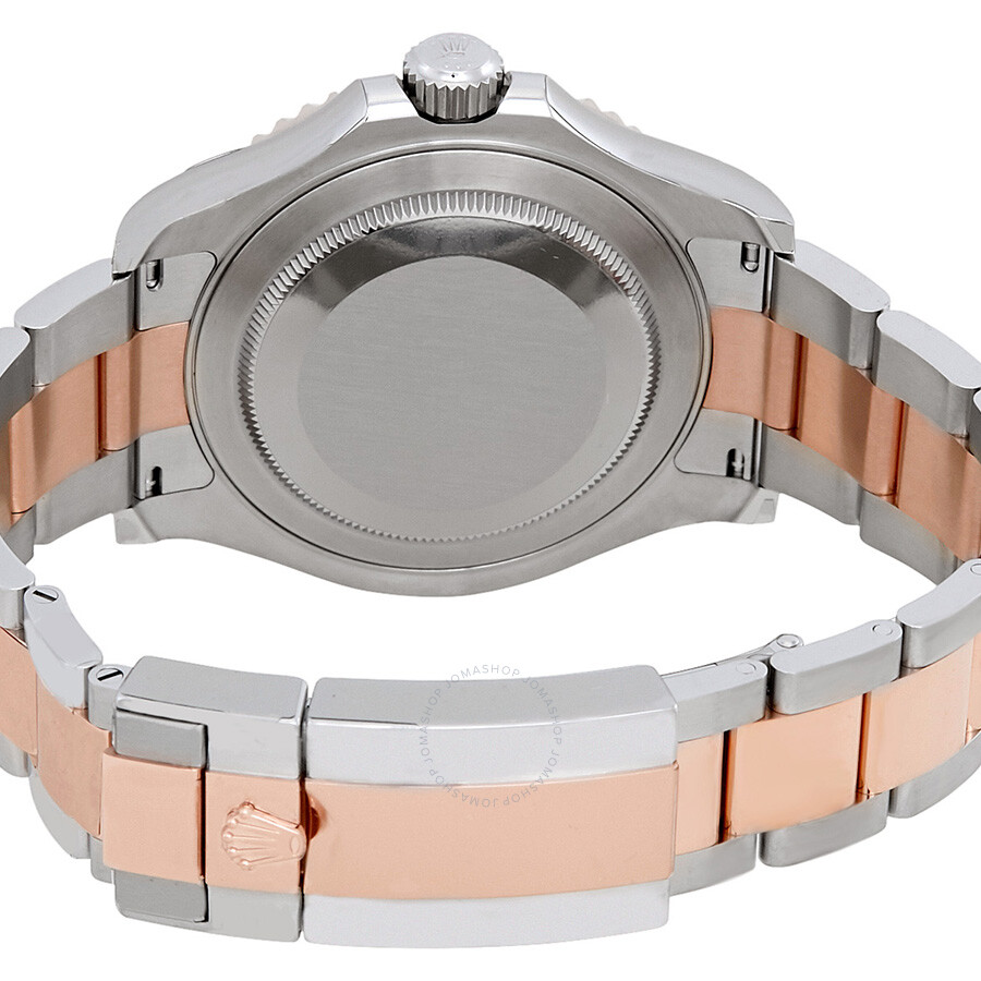 52f54866810a ... Rolex Yacht-Master Chocolate Dial Steel and 18K Everose Gold Oyster  Men s Watch 116621CHSO