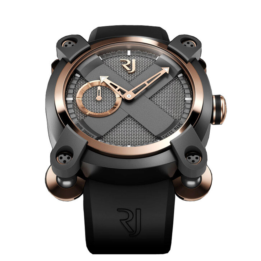Romain Jerome Moon-DNA Moon Invader Eminence Grise Men s Watch Item No.  RJ.M.AU.IN.002.01 12d4f7bae6