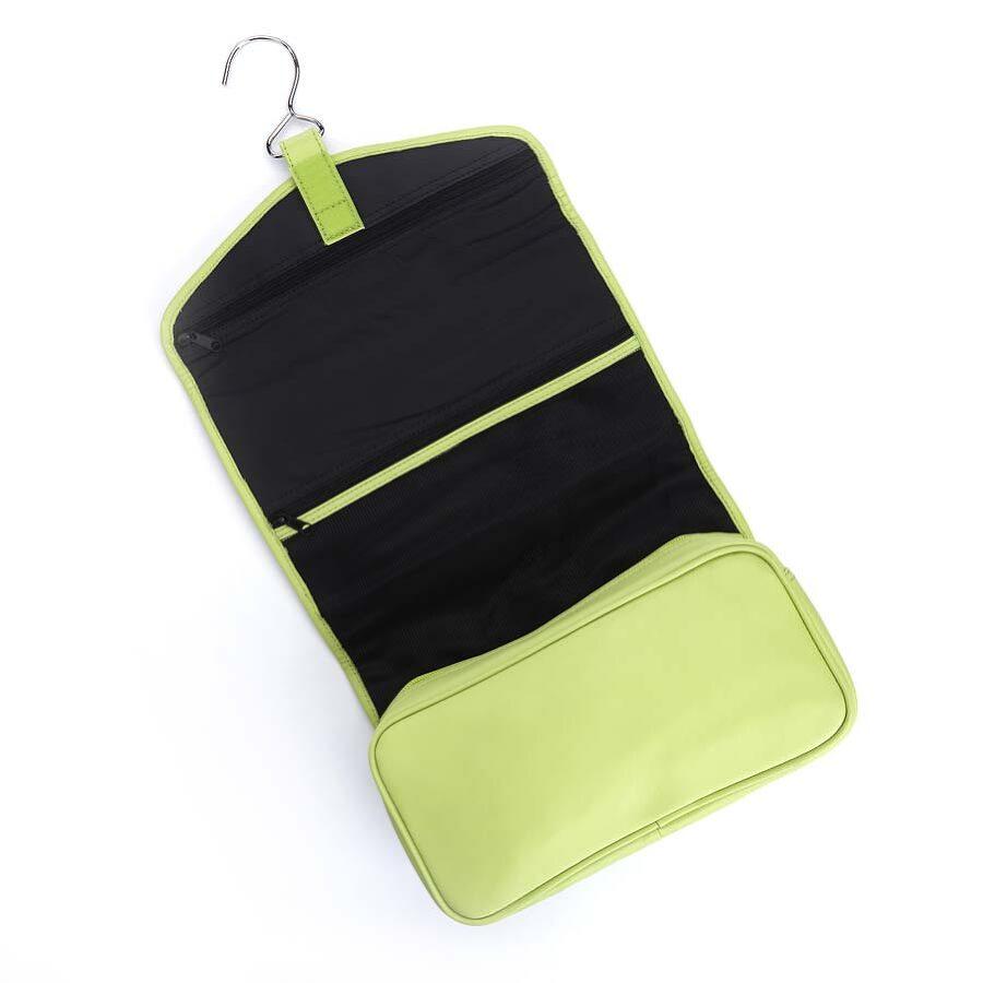 Royce Hanging Full Grain Genuine Leather Travel Toiletry Bag - Light ... c063eba06f313
