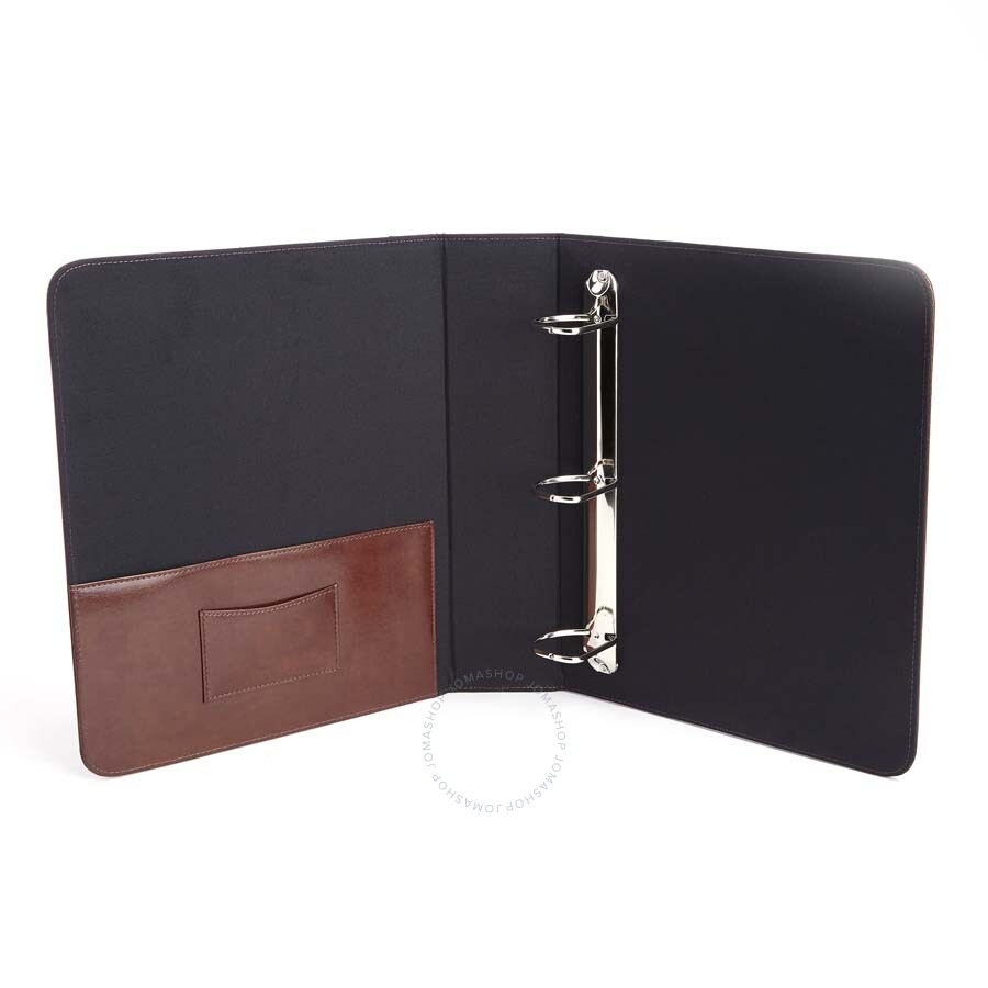 royce tan executive one and a half inch ring binder 307 bt ar